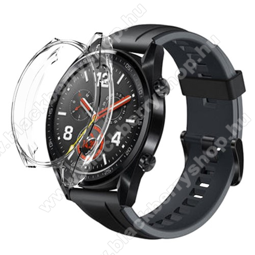 Okosóra szilikontok - ÁTLÁTSZÓ - HUAWEI Watch GT