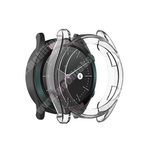 Okosóra szilikontok - ÁTLÁTSZÓ - HUAWEI Watch GT 42mm