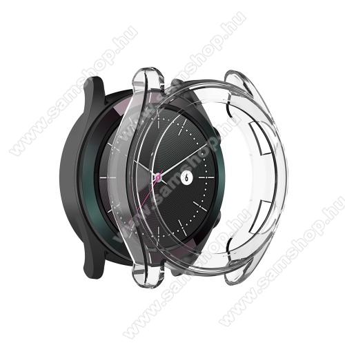Okosóra szilikontok - ÁTLÁTSZÓ - HUAWEI Watch GT Elegant 42mm