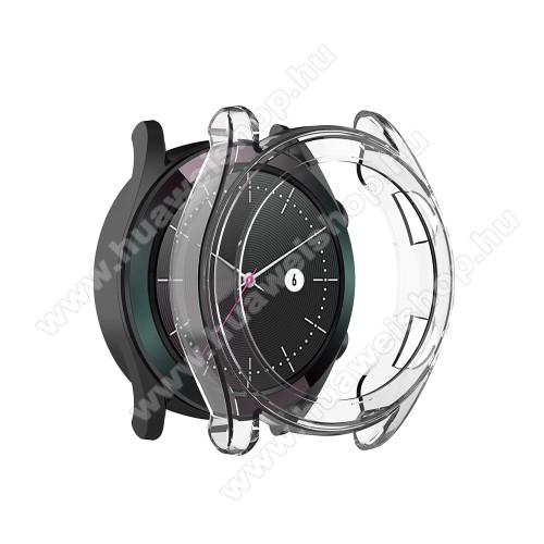HUAWEI Watch GT 46mmOkosóra szilikontok - ÁTLÁTSZÓ - HUAWEI Watch GT 42mm