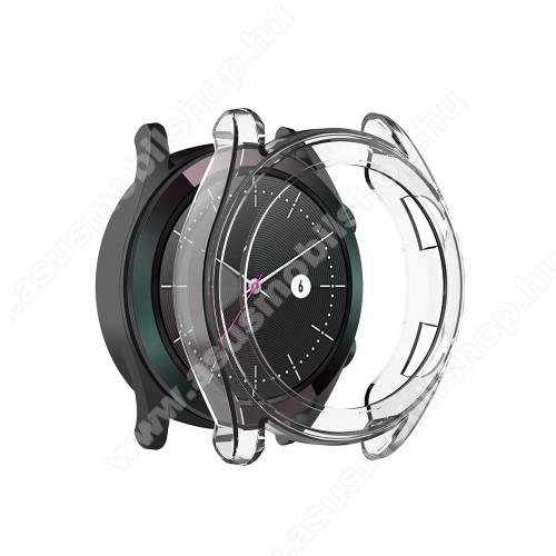 Okosóra szilikontok - ÁTLÁTSZÓ - HUAWEI Watch GT 46mm / HUAWEI Watch GT 2 46mm / HONOR Magicwatch 2 46mm