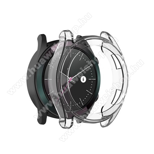 Okosóra szilikontok - ÁTLÁTSZÓ - HUAWEI Watch GT 46mm / HUAWEI Watch GT 2 46mm / HONOR Magicwatch 2 46mm