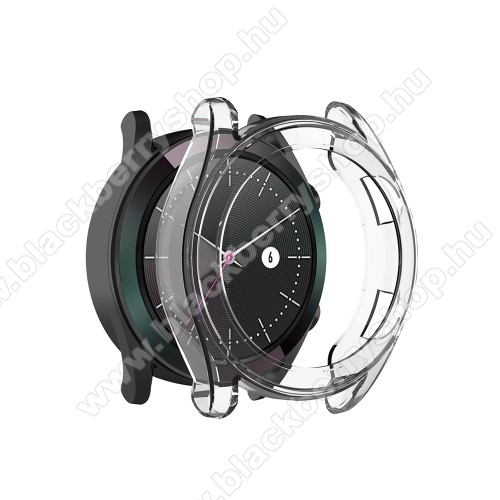 Okosóra szilikontok - ÁTLÁTSZÓ - HUAWEI Watch GT 46mm / HUAWEI Watch GT 2 46mm