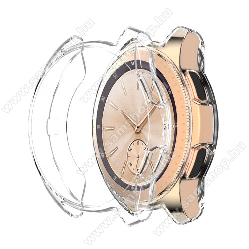 SAMSUNG Galaxy Watch 46mm (SM-R800NZ)Okosóra szilikontok - ÁTLÁTSZÓ - SAMSUNG Galaxy Watch 46mm / SAMSUNG Gear S3 Frontier