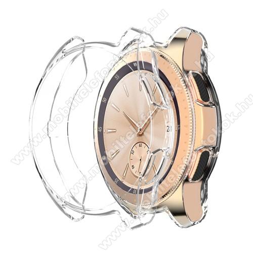 Okosóra szilikontok - ÁTLÁTSZÓ - SAMSUNG Galaxy Watch 46mm / SAMSUNG Gear S3 Frontier