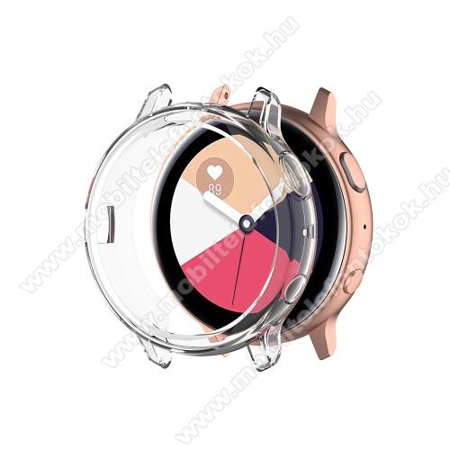 Okosóra szilikontok - ÁTLÁTSZÓ - SAMSUNG Galaxy Watch Active2 40mm