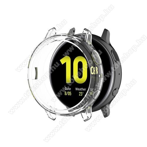 Okosóra szilikontok - ÁTLÁTSZÓ - SAMSUNG Galaxy Watch Active2 44mm