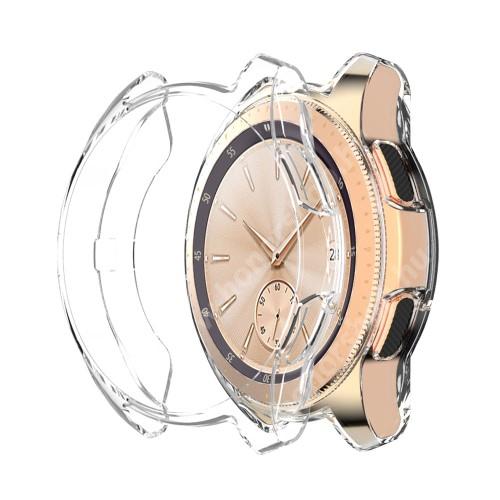 Okosóra szilikontok - ÁTLÁTSZÓ - SAMSUNG SM-R810NZ Galaxy Watch 42mm