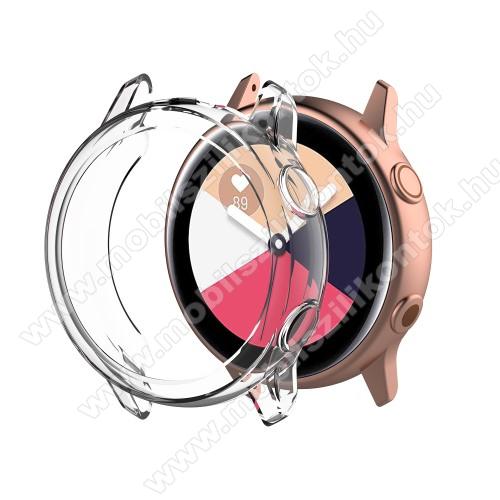 Okosóra szilikontok - ÁTLÁTSZÓ - SAMSUNG SM-R500 Galaxy Watch Active
