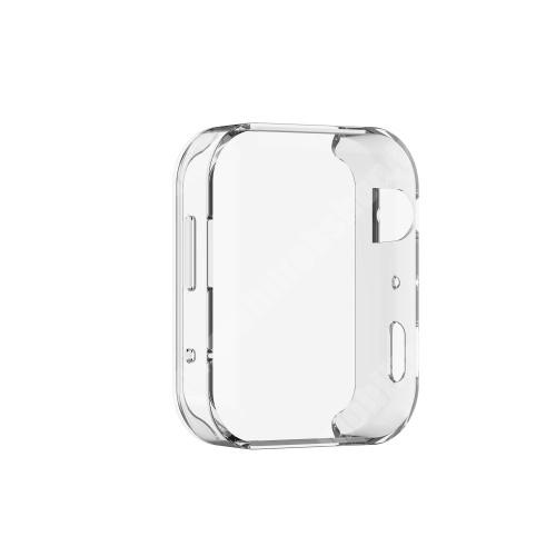 Okosóra szilikontok - ÁTLÁTSZÓ - Szilikon előlapvédő is - Xiaomi Mi Watch