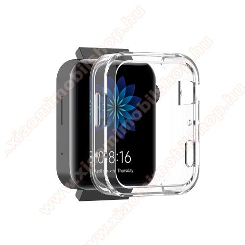 Xiaomi Mi WatchOkosóra szilikontok - ÁTLÁTSZÓ - Xiaomi Mi Watch