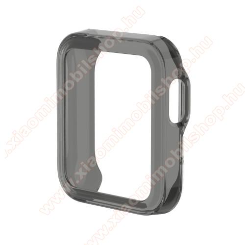 Xiaomi Redmi WatchOkosóra szilikontok - ÁTTETSZŐ FEKETE - Xiaomi Mi Watch Lite / Xiaomi Redmi Watch
