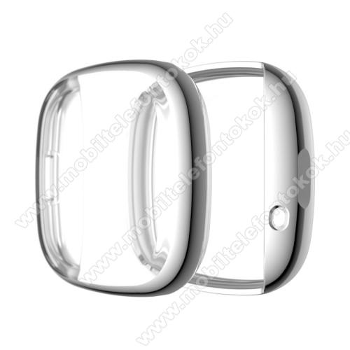 Fitbit Versa 3Okosóra szilikontok - EZÜST - Fitbit Versa 3 / Fitbit Sense
