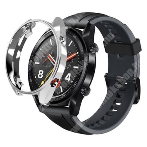 Okosóra szilikontok - EZÜST - HUAWEI Watch GT