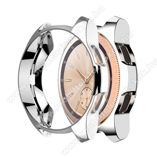 Okosóra szilikontok - EZÜST - SAMSUNG Galaxy Watch 46mm / SAMSUNG Gear S3 Frontier