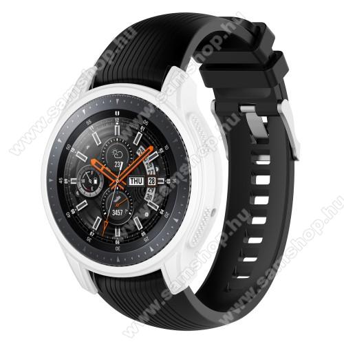SAMSUNG SM-R760 Gear S3 FrontierOkosóra szilikontok - FEHÉR - SAMSUNG Galaxy Watch 46mm / SAMSUNG Gear S3 Frontier