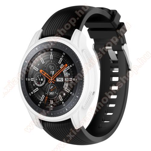 Okosóra szilikontok - FEHÉR - SAMSUNG Galaxy Watch 46mm / SAMSUNG Gear S3 Frontier