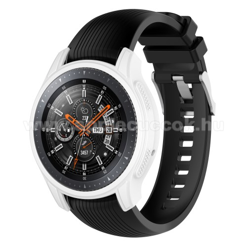 Okos�ra szilikontok - FEH�R - SAMSUNG Galaxy Watch 46mm / SAMSUNG Gear S3 Frontier