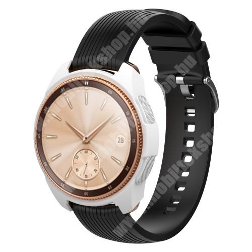Okosóra szilikontok - FEHÉR - SAMSUNG SM-R810NZ Galaxy Watch 42mm