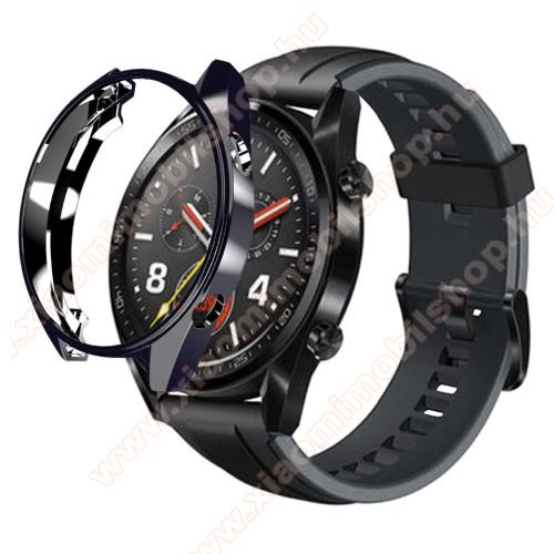 Okosóra szilikontok - FEKETE - HUAWEI Watch GT