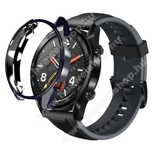 HUAWEI Watch GT 46mmOkosóra szilikontok - FEKETE - HUAWEI Watch GT