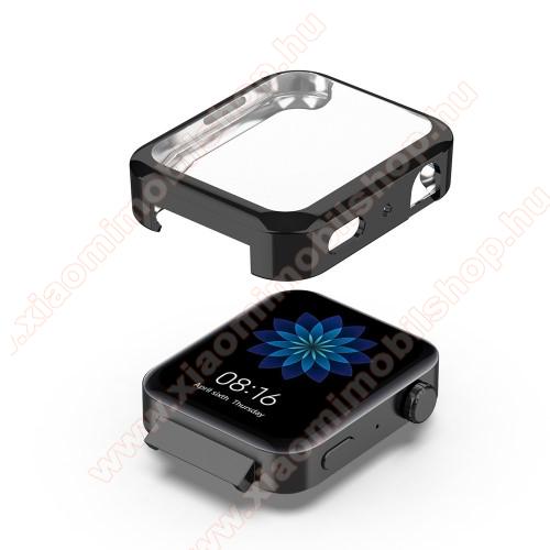 Xiaomi Mi WatchOkosóra szilikontok - FEKETE - Szilikon előlapvédő is - Xiaomi Mi Watch