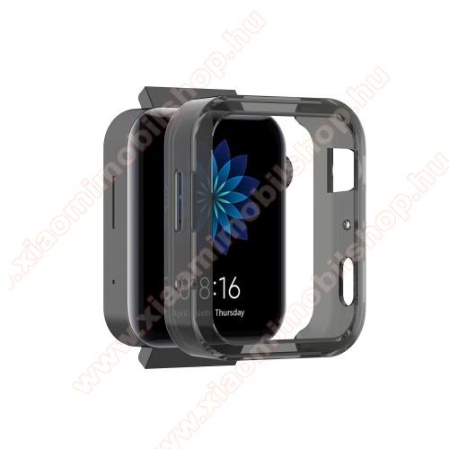 Xiaomi Mi WatchOkosóra szilikontok - FEKETE - Xiaomi Mi Watch