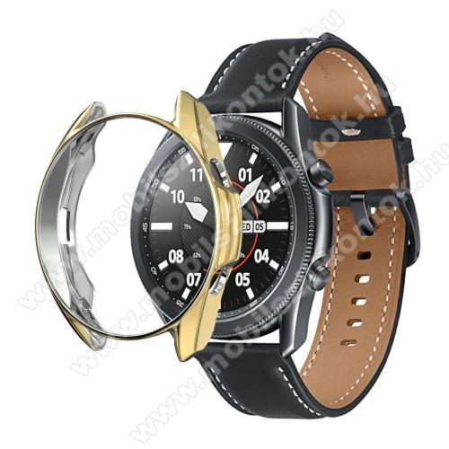 Okosóra szilikontok - GALVANIZÁLT ARANY - SAMSUNG Galaxy Watch3 41mm (SM-R855F)