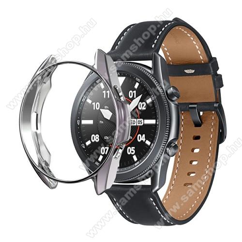 SAMSUNG Galaxy Watch3 45mm (SM-R845F)Okosóra szilikontok - GALVANIZÁLT SZÜRKE - SAMSUNG Galaxy Watch3 45mm (SM-R845F)