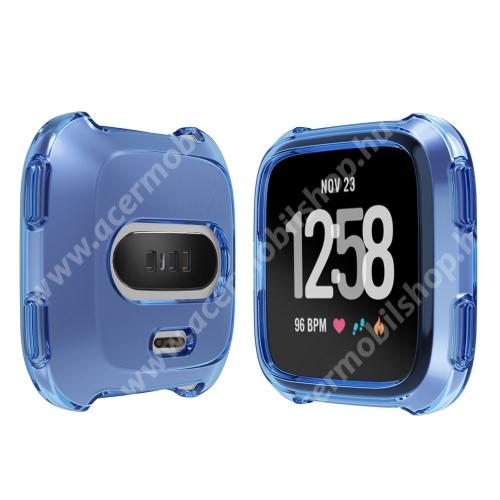 Okosóra szilikontok - KÉK - Fitbit Versa / Fitbit Versa Lite