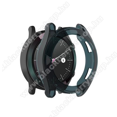 Okosóra szilikontok - KÉK - HUAWEI Watch GT 46mm / HUAWEI Watch GT 2 46mm / HONOR Magicwatch 2 46mm
