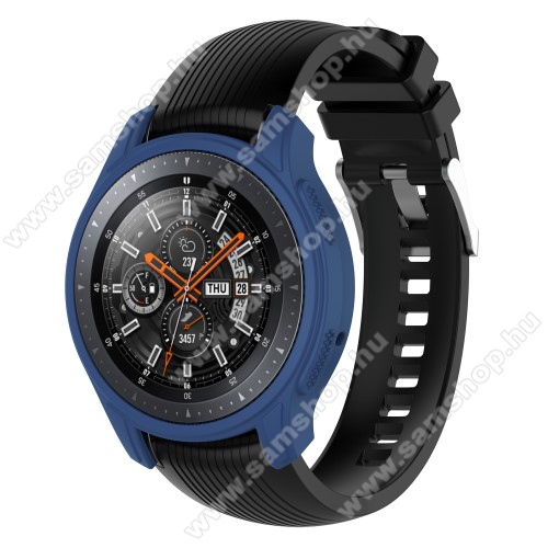 SAMSUNG Galaxy Watch 46mm (SM-R800NZ)Okosóra szilikontok - KÉK - SAMSUNG Galaxy Watch 46mm / SAMSUNG Gear S3 Frontier