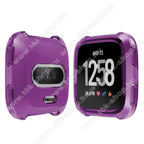 Okosóra szilikontok - LILA - Fitbit Versa / Fitbit Versa Lite