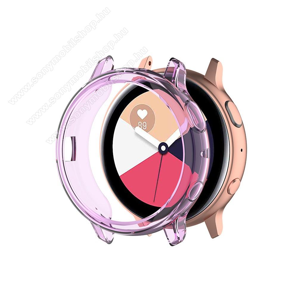 Okosóra szilikontok - LILA - SAMSUNG Galaxy Watch Active2 40mm