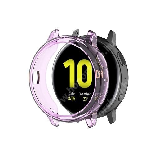 Okosóra szilikontok - LILA - SAMSUNG Galaxy Watch Active2 44mm