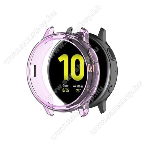 SAMSUNG Galaxy Watch Active2 44mmOkosóra szilikontok - LILA - SAMSUNG Galaxy Watch Active2 44mm