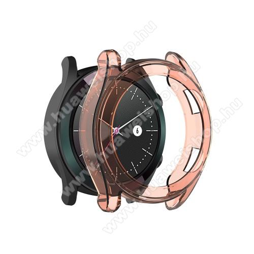 HUAWEI Watch GT 46mmOkosóra szilikontok - NARANCS - HUAWEI Watch GT 42mm