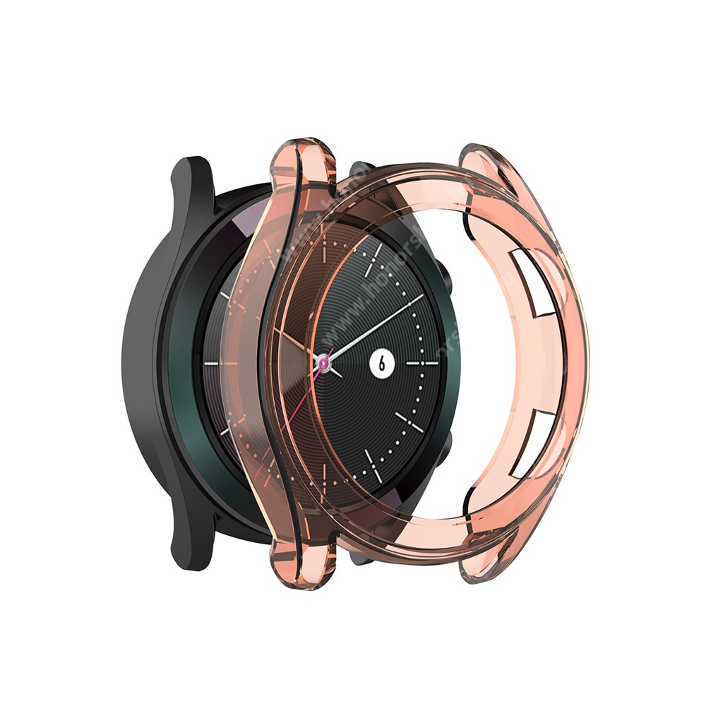 HUAWEI Watch GT 2 46mm Okosóra szilikontok - NARANCS - HUAWEI Watch GT 46mm / HUAWEI Watch GT 2 46mm