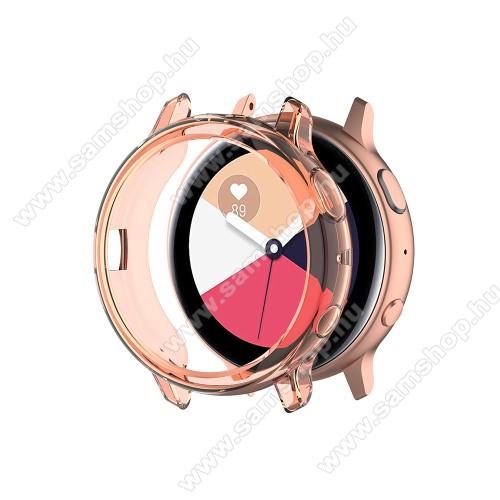 SAMSUNG Galaxy Watch Active2 40mmOkosóra szilikontok - NARANCS - SAMSUNG Galaxy Watch Active2 40mm
