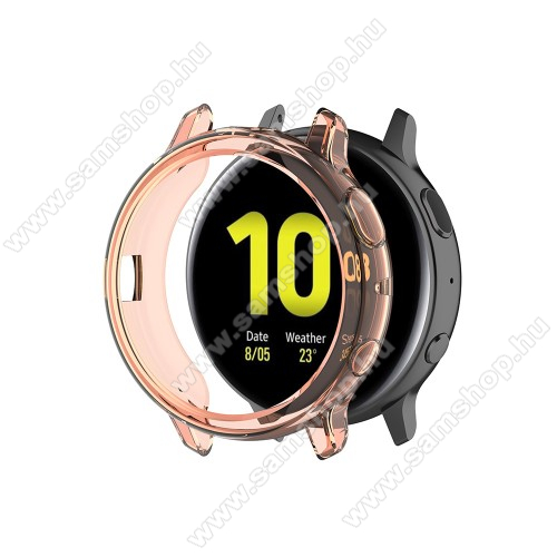 SAMSUNG Galaxy Watch Active2 44mmOkosóra szilikontok - NARANCS - SAMSUNG Galaxy Watch Active2 44mm