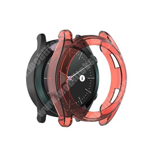 Okosóra szilikontok - PIROS - HUAWEI Watch GT 2 42mm