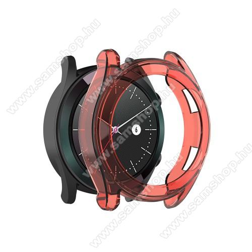 Okosóra szilikontok - PIROS - HUAWEI Watch GT Elegant 42mm