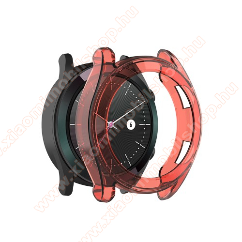 Okosóra szilikontok - PIROS - HUAWEI Watch GT 42mm
