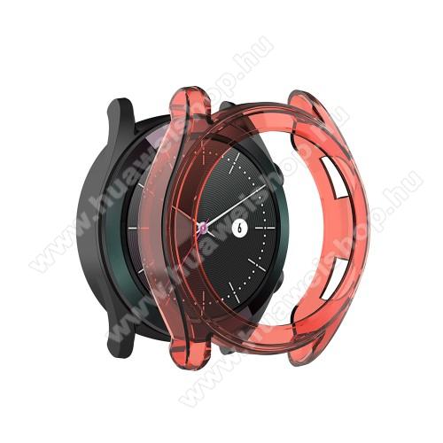 HUAWEI Watch GT 46mmOkosóra szilikontok - PIROS - HUAWEI Watch GT 42mm