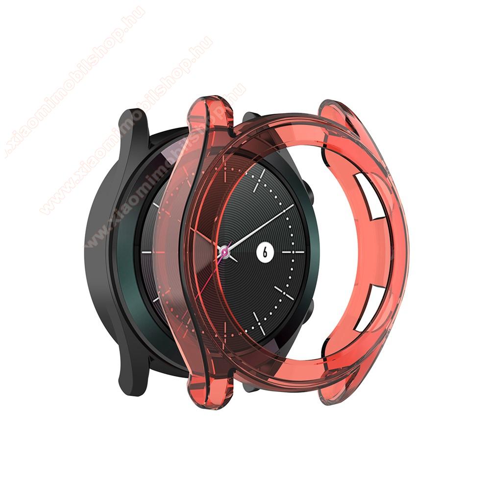 Okosóra szilikontok - PIROS - HUAWEI Watch GT 46mm / HUAWEI Watch GT 2 46mm