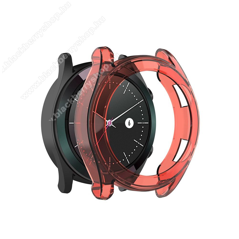 Okosóra szilikontok - PIROS - HUAWEI Watch GT 46mm / HUAWEI Watch GT 2 46mm / HONOR Magicwatch 2 46mm