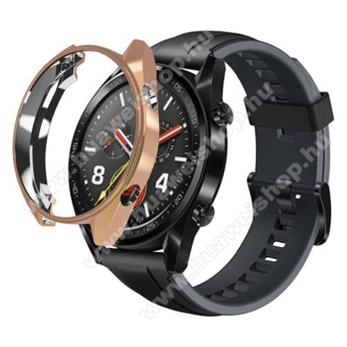 HUAWEI Watch 2 ProOkosóra szilikontok - ROSE GOLD - HUAWEI Watch GT