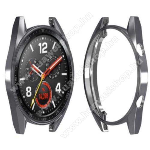 HUAWEI Watch 2 ProOkosóra szilikontok - SZÜRKE - HUAWEI Watch GT