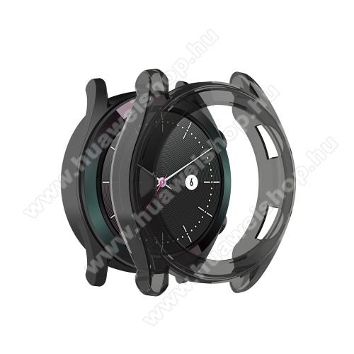HUAWEI Watch GT 46mmOkosóra szilikontok - SZÜRKE - HUAWEI Watch GT 42mm