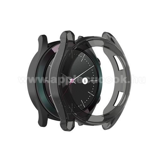 Okosóra szilikontok - SZÜRKE - HUAWEI Watch GT Elegant 42mm